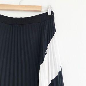 Anthropologie Skirts - Anthropologie Lapis Pleated Midi Skirt